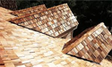 Wood Shingles Roofing Material